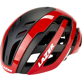 Lazer Century Casco, red-black